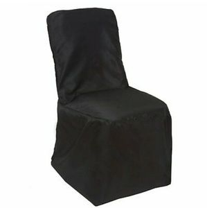 Polyester Square Banquet Chair Cover Lot